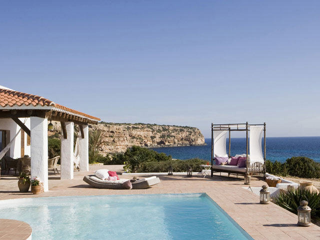 House photo Gonzalo Villa with Pool Cala Embaster
